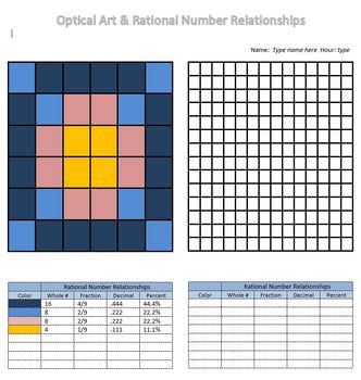 Rational Numbers and Art
