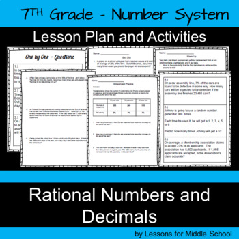 Rational Numbers and Decimals – 7th Grade Number System