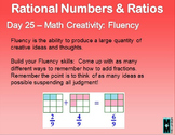 Rational Numbers and Ratio Daily Math Slides