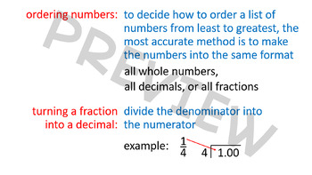 Rational Numbers and the Connection Between Fractions and Decimals