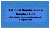 Rational Numbers on a Number Line