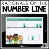 Rational Numbers on a Number Line | Boom Cards | Distance