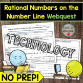 Rational Numbers on the Number Line Webquest MATH DISTANCE