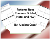 Rational Root Theorem Guided Notes and Homework