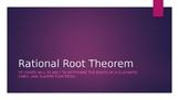 Rational Root Theorem Powerpoint
