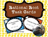 Rational Root Theorem Task Cards