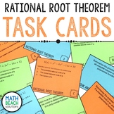 Rational Root Theorem Task Cards Activity