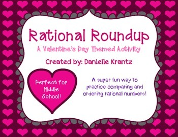 Rational Roundup - Valentine's Day Activity
