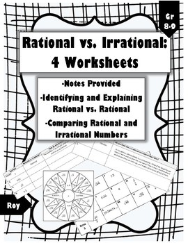 Rational and Irrational Numbers: 4 Engaging Activities