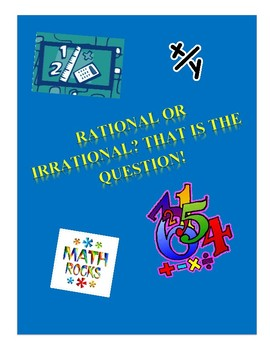 Rational and Irrational Numbers Intro Lesson