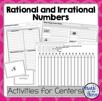Rational And Irrational Numbers Coloring Worksheets