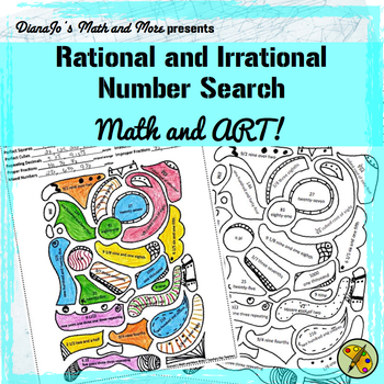 Rational and Irrational Numbers Search