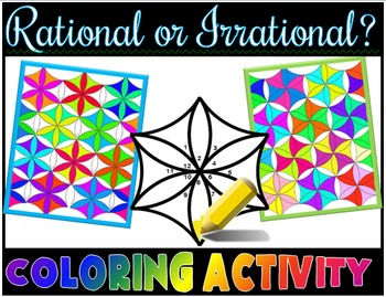 Rational or Irrational?  Coloring Activity
