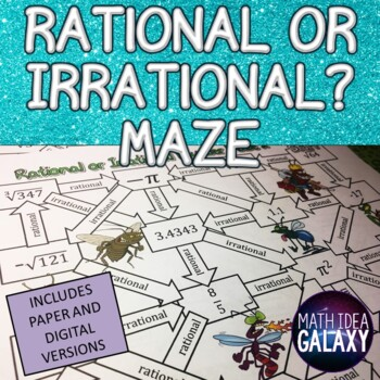 Rational or Irrational Number Maze