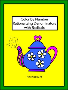 Rationalizing Denominators with Radicals Color by Number