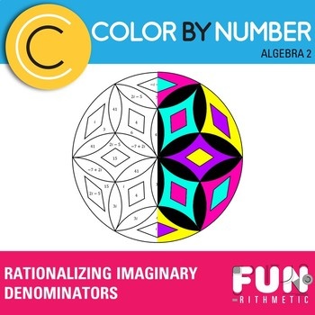 Rationalizing Imaginary Denominators Color by Number