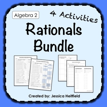 Rationals Activity Bundle: Fix Common Mistakes!