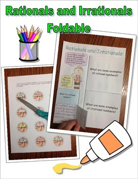 Rationals and Irrationals Foldable Activity