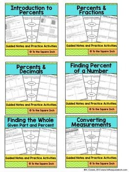 Ratios- 6th Grade Math Guided Notes and Activities