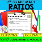 Ratios- 6th Grade Math Guided Notes