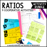 Ratios and Proportions Activity Bundle 6th Grade