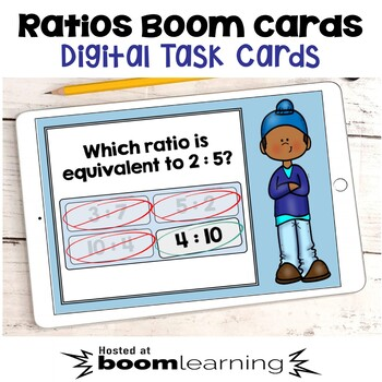 Ratios Boom Cards - Digital Task Cards