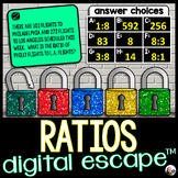 Ratios Digital Math Escape Room