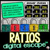 Ratios Digital Math Escape Room