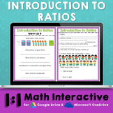 Ratios Digital Math Notes