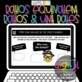 Ratios, Equivalent Ratios & Unit Rates DIGITAL to use with Google Classroom™