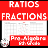 Ratios Fractions|Writing Ratios as Fractions|Fractions, Ra
