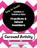 Ratios, Fractions, Decimals, and Percents Review CAROUSEL