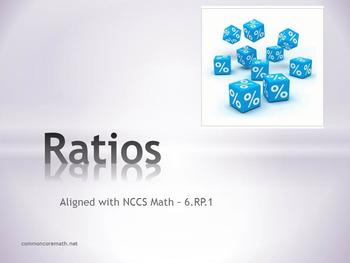 Ratios Full Lesson Bundle - 6.RP.1