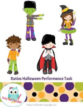 Ratios Halloween Performance Task
