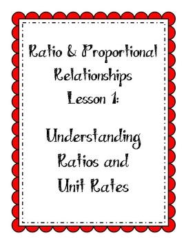 Ratios Lesson - Understanding Ratios and Unit Rates