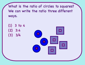 Ratios Math Smartboard Lesson - Ratio Lesson