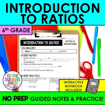 Ratios Notes