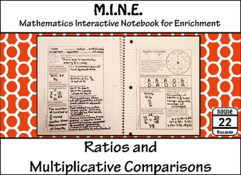 Ratios Notes and Activity