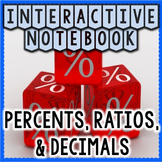 Ratios, Percents, & Decimals Interactive Notebook