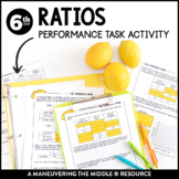 Ratios: Performance Task