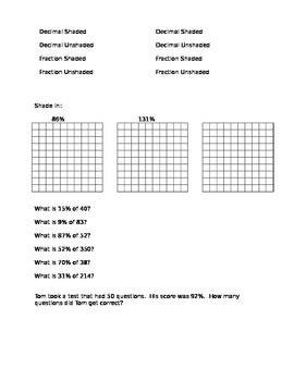 Ratios & Proportional Relationships Study Guide