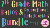Ratios & Proportional Relationships Unit Bundle 7th Grade Math