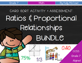 Grade 7 Ratios & Proportional Relationships BUNDLE