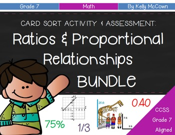 Grade 7 Ratios & Proportional Relationships BUNDLE