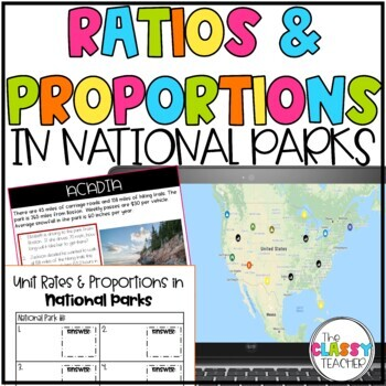 Ratios & Proportions National Parks Project