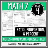 Ratios, Proportions, and Percents (Math 7 Curriculum - Unit 4)