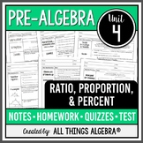 Ratios, Proportions, and Percents (Pre-Algebra Curriculum - Unit 4)