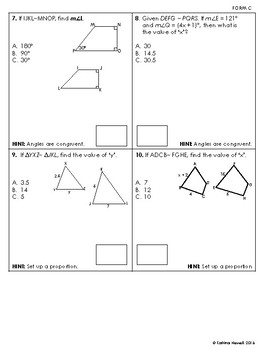 ratios proportions and similar polygons quiz by mrs newells math. Black Bedroom Furniture Sets. Home Design Ideas