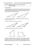 Ratios & Proportions w/ Congruent & Similar Polygons (Less