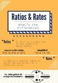 Ratios & Rates